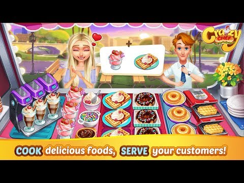 Crazy Chef: Craze Fast Restaurant Cooking Games Android Gameplay