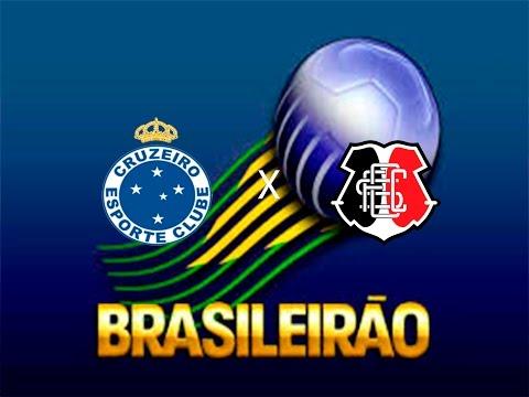 Cruzeiro 2x0 Santa Cruz - GOLS E MELHORES MOMENTOS - BRASILEIRÃO 2016 28/08/16