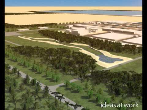 Doha Centre de traitement d'eau, Parc, Usine - ideas at work