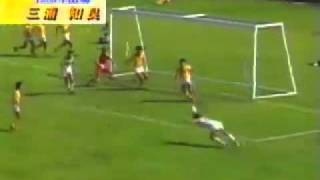 1985年 SBSカップ 18歳のカズ(三浦知良)のドリブル アデミールサントス 検索動画 8