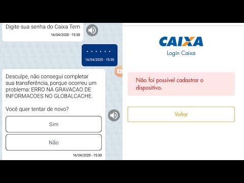 Conta Digital Caixa Tem - Não Consigo Acessar O App