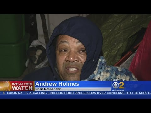 Activist Spends Night In Tent City To Protest Closing Of Homeless Shelter