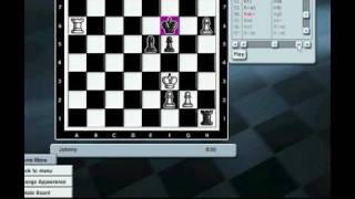 Kasparov Chessmate-Me vs PC (2000 rat).