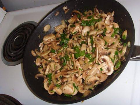 recette-/-recipe---champignons-sautés