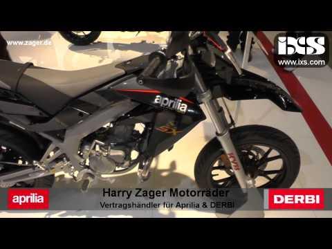 2014 Aprilia SX50 LTD Supermoto Enduro Funbike on EICMA 2013 TOP Speed BIKE
