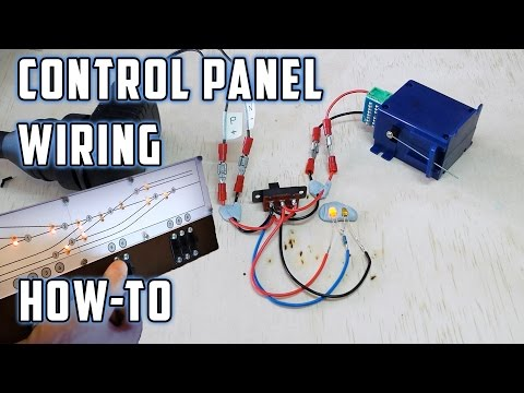 Control Panel Wiring (with LED's) – How To – Model Railroads