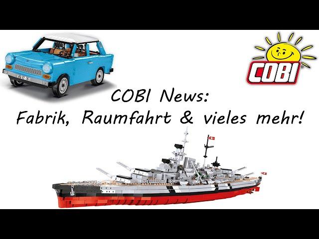 Cobi News: Fabrik Erweiterung, Raumfahrt Sets & vieles mehr!