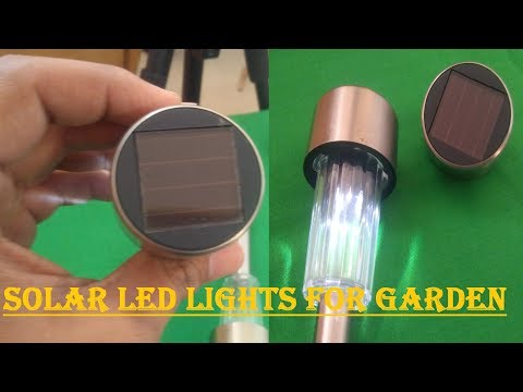 Solar Garden Lights, Solar Led Lights for Garden outdoor (Free Energy)