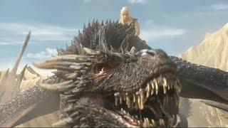 Daenerys Targaryen a lomos de Drogon | Juego de Tronos Español HD