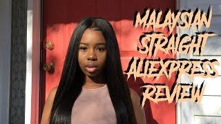Virgo Hair Aliexpress Review  Malaysian Straight