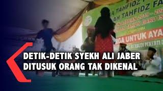Video Detik-detik Penusukan Syekh Ali Jaber di Lampung
