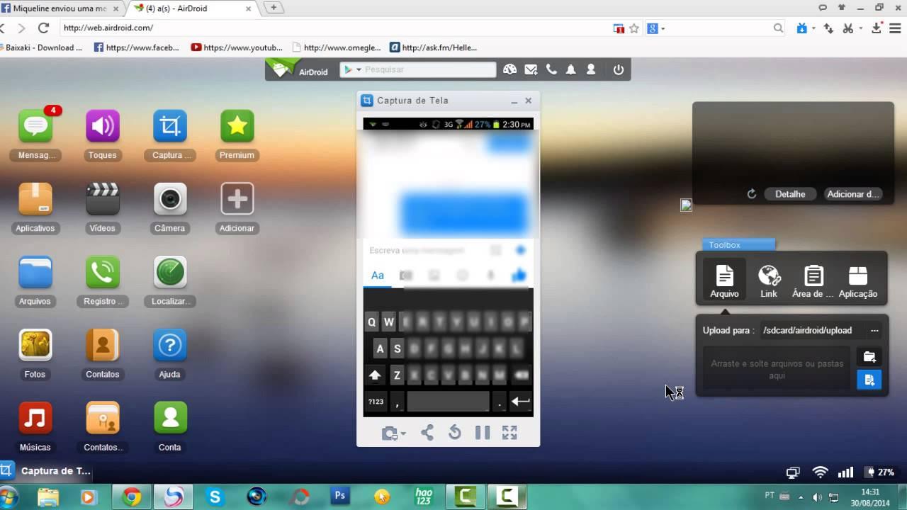 Tutorial Como Colocar Foto No Teclado De Qualquer Celular Android
