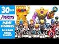 30 Avengers Endgame Quantum Realm Suits & Brick Built Infinity Gauntlet Unofficial LEGO Minifigures