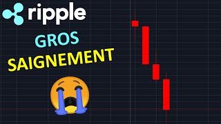XRP 0.10$ LE SAIGNEMENT N'EST PAS FINI !? btc analyse technique crypto monnaie bitcoin