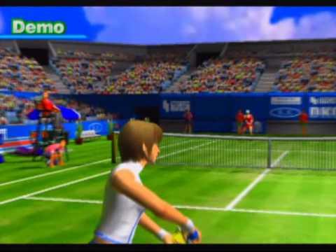 Hard Hitter Tennis (2) Game Sample - Playstation 2