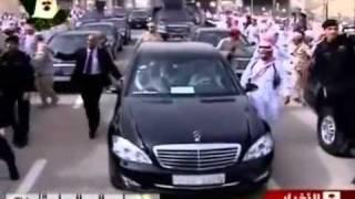 استقبال الشعب لخادم الحرمين بعد عودته من العلاج