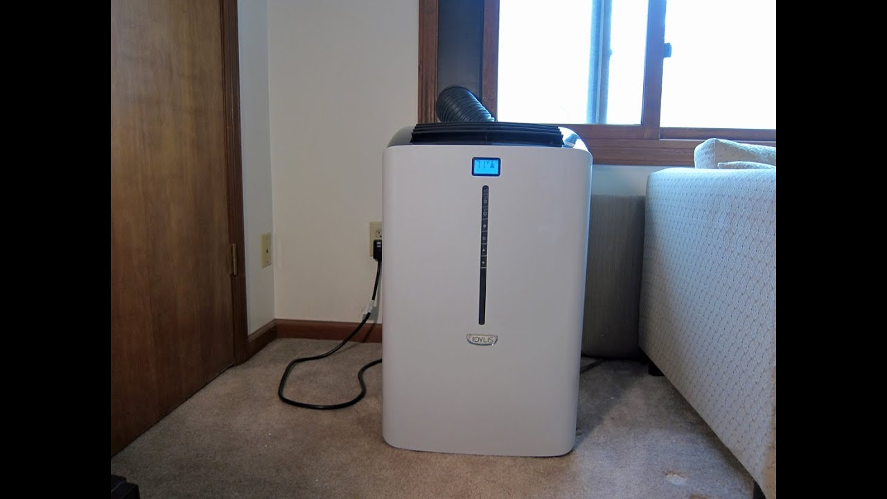 #2770A4 Lowe's Idylis 10 000 BTU Portable Air Conditioner  Most Effective 5885 Portable Ac Without Vent pictures with 1100x825 px on helpvideos.info - Air Conditioners, Air Coolers and more