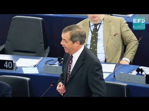 We'll be even more defiant if forced to fight a second referendum - Nigel Farage MEP