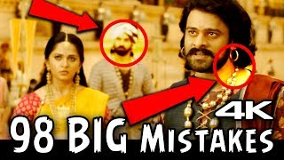 Bahubali 2 Mistakes (98 BIG MISTAKES) (HINDI) (Filmy Errors) | Full Movie HD