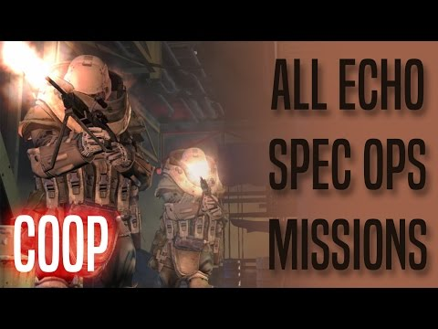 Special Ops - Echo Missions COOP - 3 Stars - MW2