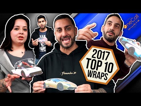 2017 Top 10 Car Wraps by Yiannimize