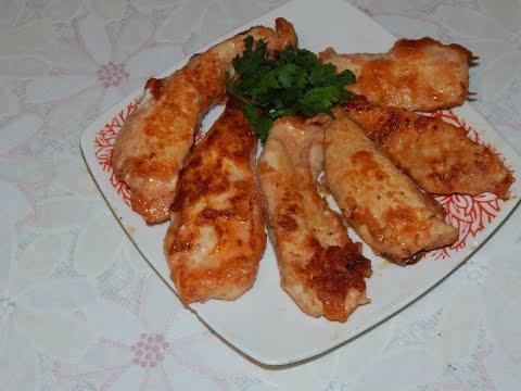 Куриное филе в томатно-яичном маринаде. Диетический рецепт