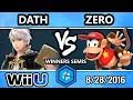 Shine 2016 Smash 4 - TSM ZeRo (Diddy Kong) Vs. EVB | Dath (Robin) SSB4 Winners Semis - Smash Wii U
