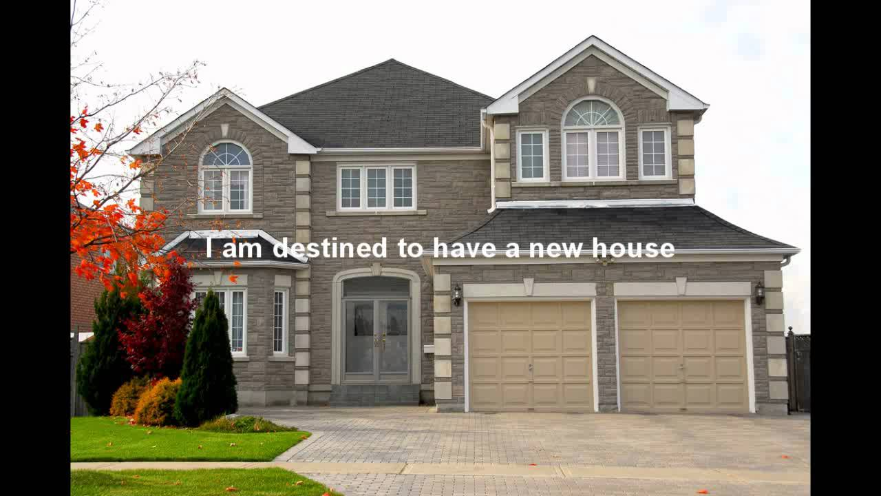 Attract a new home subconscious reprogramming