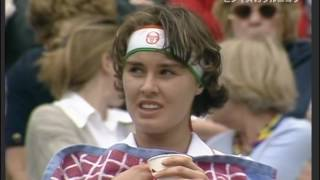 Martina Hingis vs Anna Kournikova Wimbledon 1997