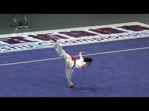 2012 World Junior Wushu Champ   CQF A   YAMAMOTO CHIHIRO   JPN   9 47   2