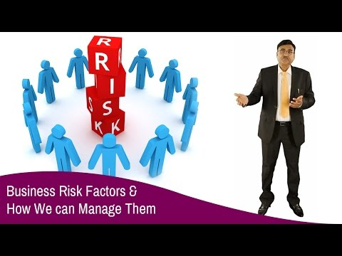 Business Risk Factors and How we can manage them
