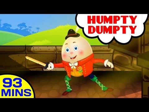Humpty Dumpty By Baby Hazel Nursery Rhymes   Plus More Kids Songs and Nursery Rhymes for Children