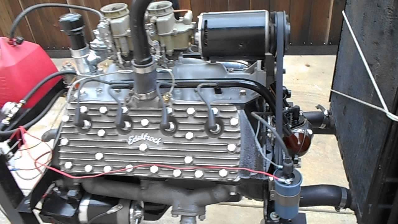 59a Ford Flat Head V8 Engine 400jr Iskenderian Camshaft