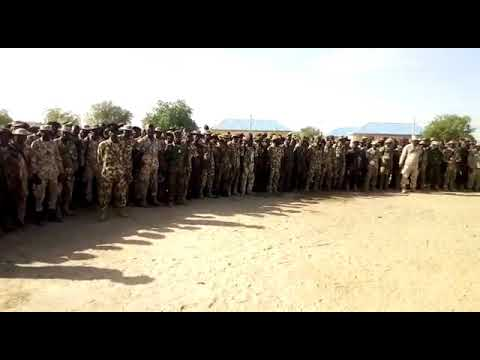Boko Haram: Nigerian army rotates 3,500 troops from Northeast