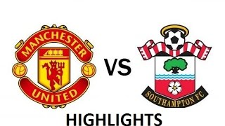 English premier league | manchester united vs. southampton highlights 8/19/16