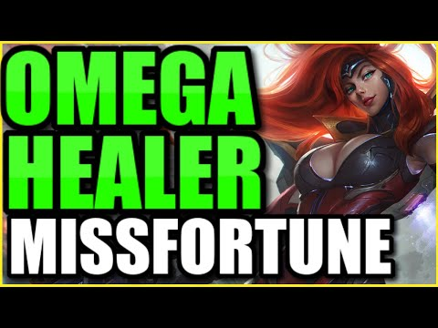 INSANE DAMAGE *AND* INSANE HEALING?! MOONSTONE RENEWER MISS FORTUNE SUPPORT IS 100% NOT FAIR!