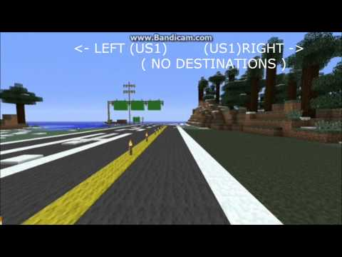 Minecraft - Realistic American Highway v1.0