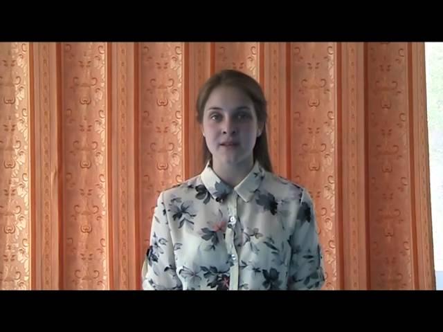 Изображение предпросмотра прочтения – ОльгаМакарова читает произведение «О красном вечере задумалась дорога…» С.А.Есенина