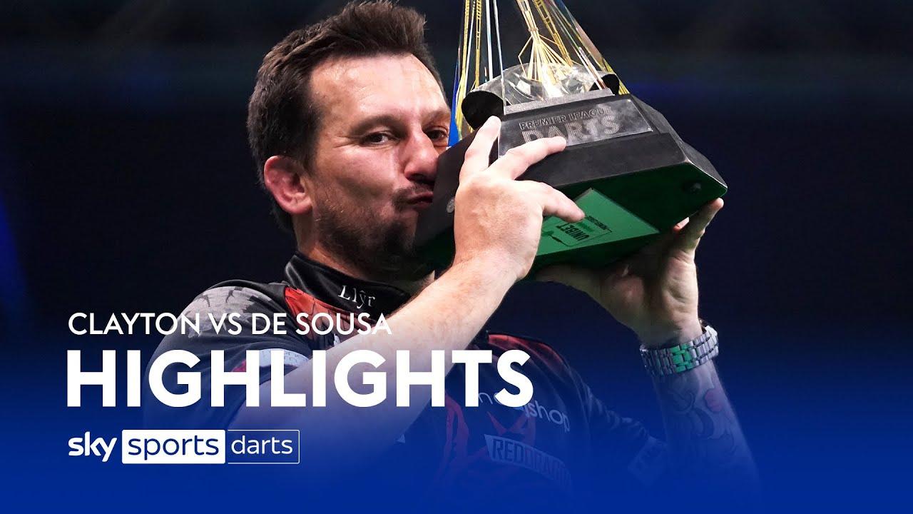 Download Clayton crowned Premier League champion! | Clayton vs de Sousa | Premier League Darts Highlights