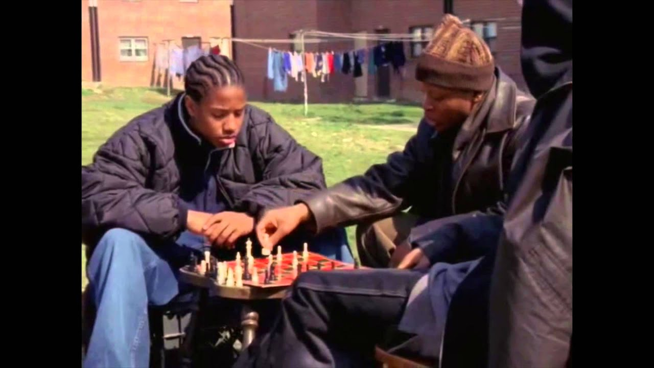 the wire series 1 episode 3 chess scene youtube. Black Bedroom Furniture Sets. Home Design Ideas