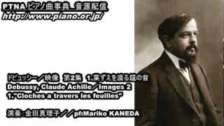 ドビュッシー/映像 第2集 1.葉ずえを渡る鐘の音 /演奏:金田真理子
