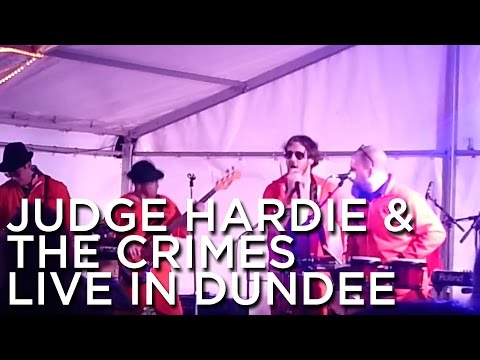 2013-09-28 'Judge Hardie & The Crimes' @ The Rotary Club Of Dundee's 'Oktoberfest', Discovery Quay ,