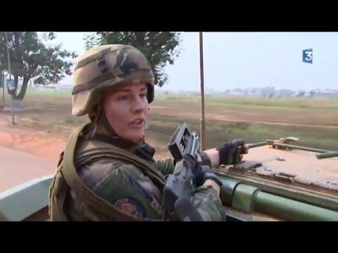 """Centrafrique : en patrouille avec le 92e Régiment d'infanterie et son """"diffuseur de sérénité"""""""