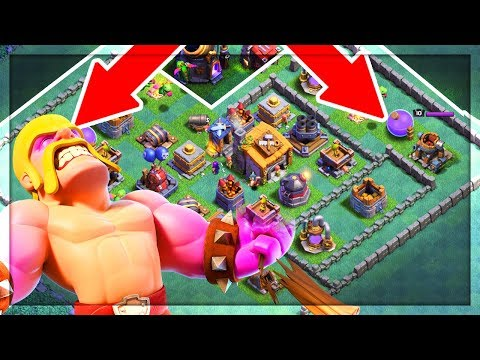 BACK DOOR Barbarians? Clash of Clans Builder Hall Strategy Taking Players by SURPRISE!
