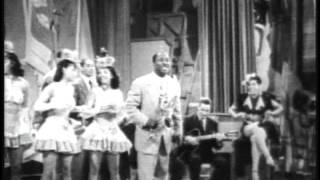 LOUIS JORDAN.  Let The Good Times Roll.  1940's R&B / Jazz Soundie