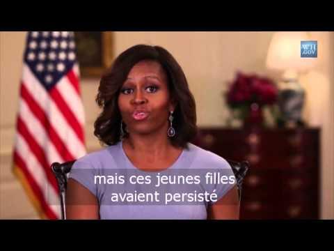 Nigérianes enlevées : Michelle Obama dénonce un acte insensé