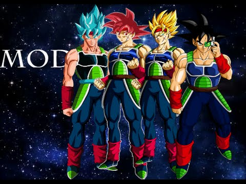 Dragon Ball Shin Budokai 2 Mod Bardock All Forms e Vegeta ...
