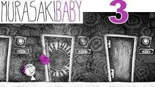 Murasaki Baby Let's Play Walkthrough 3 - Baby And The Musical Doors!