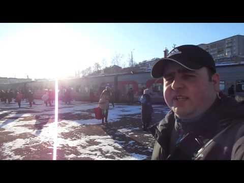 Vanino Railways Station - BAM Line Train to Khabarovsk