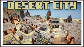 minecraft desert creative